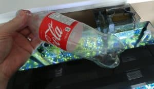 reduce fish tank current with this trick